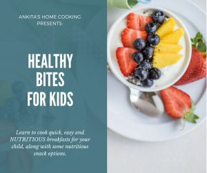 Cooking Class for Preparing Healthy Kid's Food