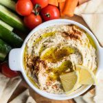 Healthy Hummus Recipe / Ankita's hummus is one of her most requested items. Flavorful, creamy, and full of fiber and health-boosting ingredients.